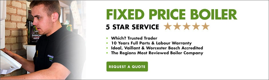 fixed price boiler installation